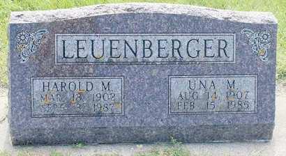 LEUENBERGER, UNA M. - Fayette County, Iowa | UNA M. LEUENBERGER