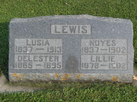 LEWIS, LILLIE - Fayette County, Iowa | LILLIE LEWIS