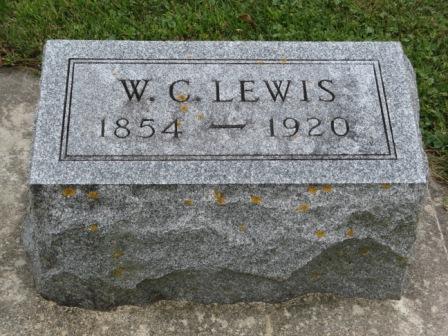 LEWIS, W. C. - Fayette County, Iowa | W. C. LEWIS