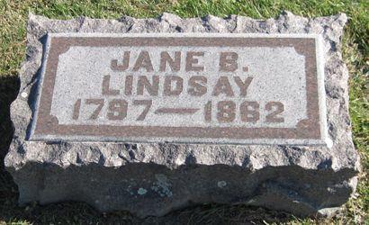 LINDSAY, JANE B. - Fayette County, Iowa | JANE B. LINDSAY