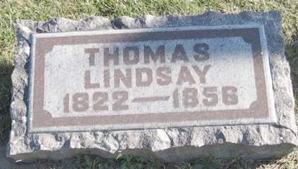 LINDSAY, THOMAS - Fayette County, Iowa | THOMAS LINDSAY