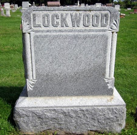 LOCKWOOD, FAMILY MONUMENT - Fayette County, Iowa | FAMILY MONUMENT LOCKWOOD