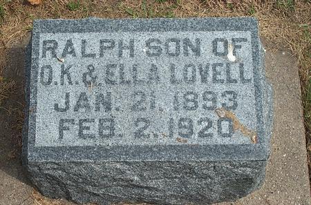 LOVELL, RALPH - Fayette County, Iowa | RALPH LOVELL