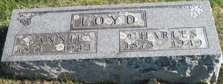 LOYD, FANNIE - Fayette County, Iowa   FANNIE LOYD