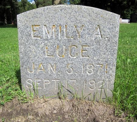 LUCE, EMILY A. - Fayette County, Iowa | EMILY A. LUCE