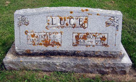 LUCE, FAYETTE I. - Fayette County, Iowa | FAYETTE I. LUCE