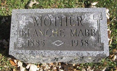 MABB, BLANCHE ANN - Fayette County, Iowa | BLANCHE ANN MABB