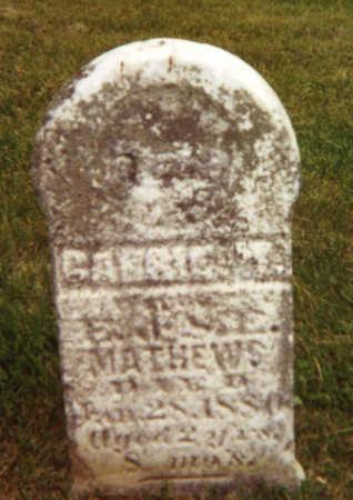MATHEWS, CARRIE - Fayette County, Iowa | CARRIE MATHEWS