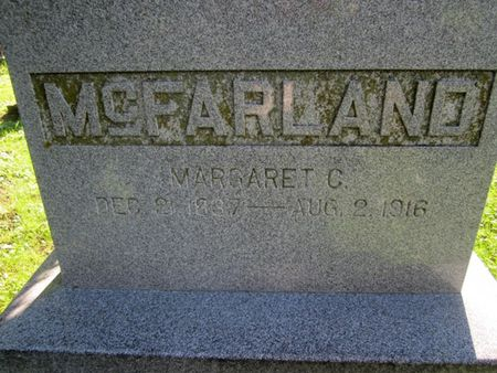 MCFARLAND, MARGARET - Fayette County, Iowa   MARGARET MCFARLAND