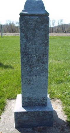 MCFARLANE, JOHN - Fayette County, Iowa   JOHN MCFARLANE