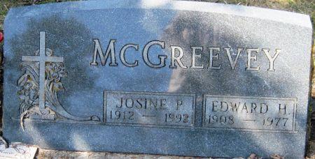 MCGREEVEY, JOSINE P - Fayette County, Iowa   JOSINE P MCGREEVEY