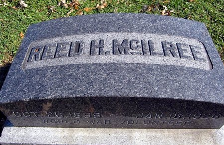 MCILREE, REED H. - Fayette County, Iowa | REED H. MCILREE