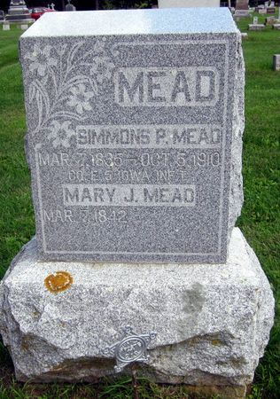 MEAD, SIMMONS P. - Fayette County, Iowa | SIMMONS P. MEAD
