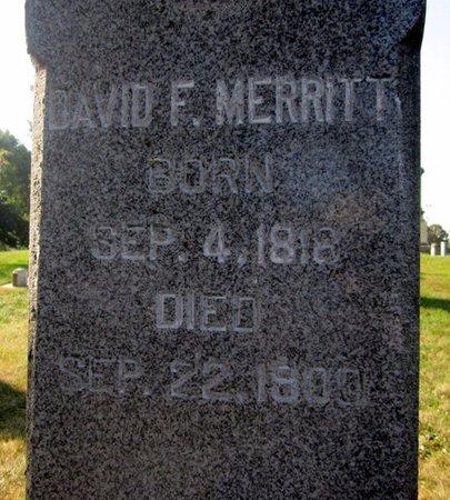 MERRITT, DAVID FOX - Fayette County, Iowa | DAVID FOX MERRITT