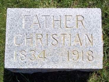 MESSERLI, CHRISTIAN - Fayette County, Iowa | CHRISTIAN MESSERLI