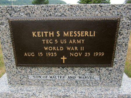 MESSERLI, KEITH S. - Fayette County, Iowa   KEITH S. MESSERLI