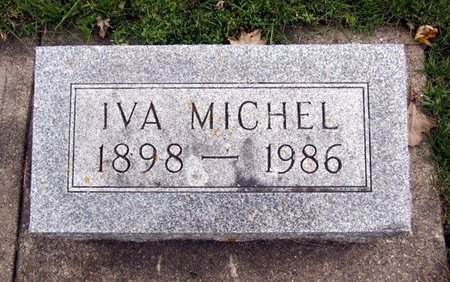 MICHEL, IVA - Fayette County, Iowa | IVA MICHEL