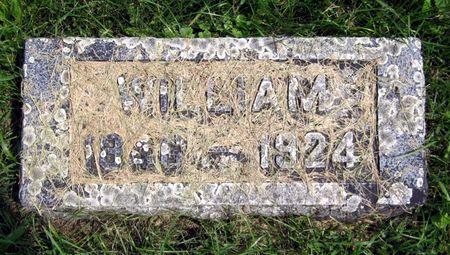 MILLER, WILLIAM - Fayette County, Iowa   WILLIAM MILLER