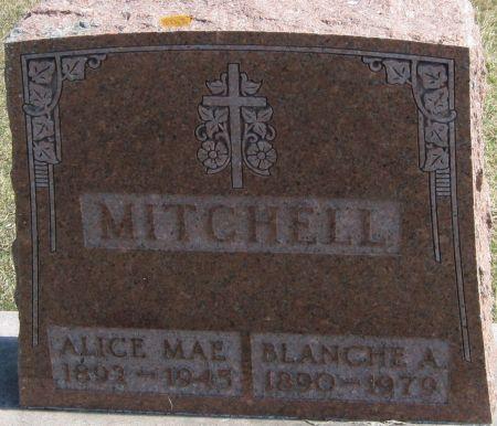 MITCHELL, ALICE MAE - Fayette County, Iowa | ALICE MAE MITCHELL