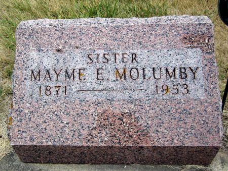 MOLUMBY, MAYME E. - Fayette County, Iowa | MAYME E. MOLUMBY