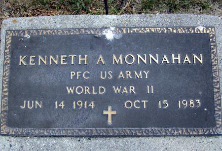 MONNAHAN, KENNETH A. - Fayette County, Iowa | KENNETH A. MONNAHAN
