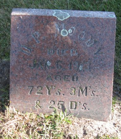 MOODY, DANIEL P. - Fayette County, Iowa | DANIEL P. MOODY
