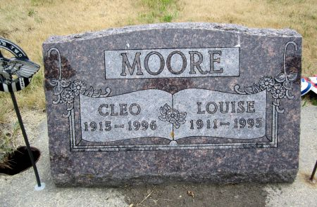 MOORE, LOUISE - Fayette County, Iowa | LOUISE MOORE