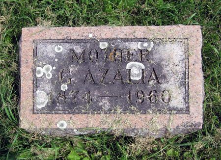ROBERTS MUMBY, AZALIA A - Fayette County, Iowa | AZALIA A ROBERTS MUMBY