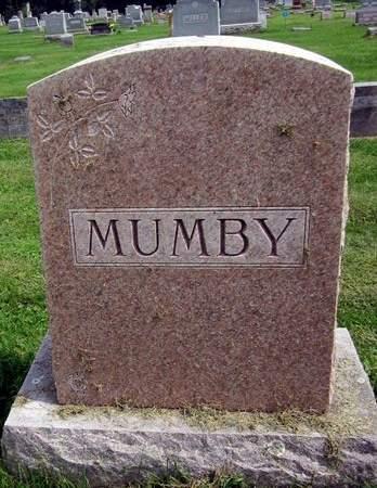 MUMBY, FAMILY MONUMENT - Fayette County, Iowa | FAMILY MONUMENT MUMBY