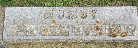 MUMBY, JERRY LEE - Fayette County, Iowa   JERRY LEE MUMBY