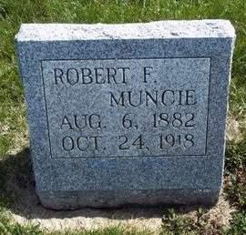 MUNCIE, ROBERT F. - Fayette County, Iowa   ROBERT F. MUNCIE