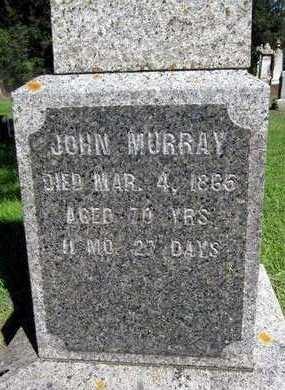 MURRAY, JOHN - Fayette County, Iowa   JOHN MURRAY