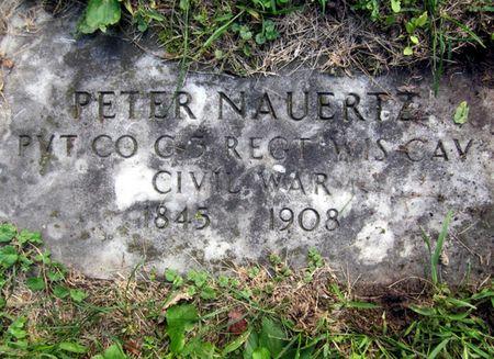 NAUERTZ, PETER - Fayette County, Iowa   PETER NAUERTZ