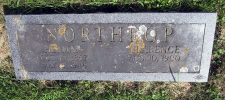 NORTHROP, CLARENCE - Fayette County, Iowa   CLARENCE NORTHROP