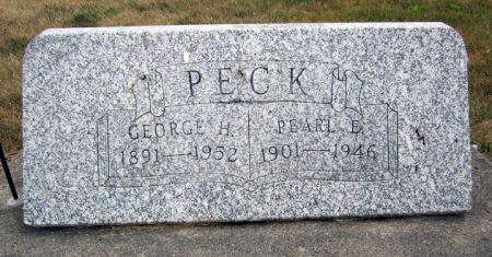 PECK, GEORGE H. - Fayette County, Iowa | GEORGE H. PECK