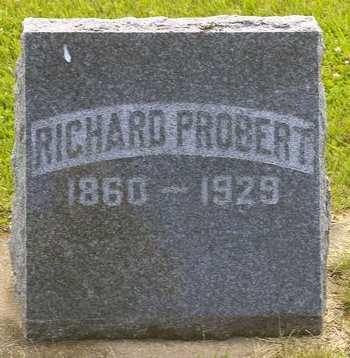 PROBERT, RICHARD - Fayette County, Iowa | RICHARD PROBERT