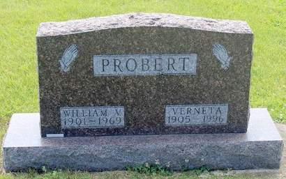 PROBERT, WILLIAM V. - Fayette County, Iowa | WILLIAM V. PROBERT