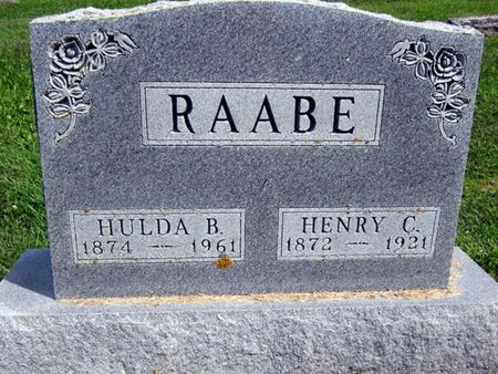 RAABE, HENRY C. - Fayette County, Iowa | HENRY C. RAABE