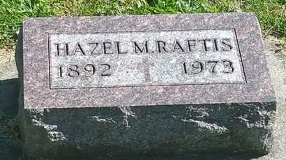 RAFTIS, HAZEL M - Fayette County, Iowa   HAZEL M RAFTIS