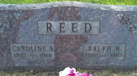 REED, CAROLINE S. - Fayette County, Iowa | CAROLINE S. REED