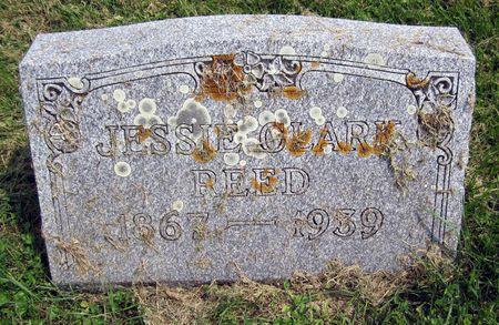 CLARK REED, JESSIE - Fayette County, Iowa | JESSIE CLARK REED