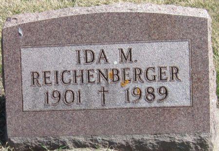 REICHENBERGER, IDA M - Fayette County, Iowa   IDA M REICHENBERGER