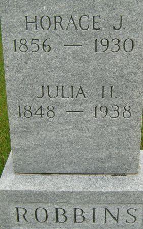 ROBBINS, JULIA H. - Fayette County, Iowa | JULIA H. ROBBINS