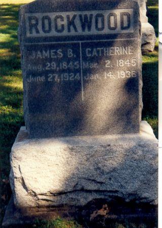 ROCKWOOD, CATHERINE - Fayette County, Iowa | CATHERINE ROCKWOOD