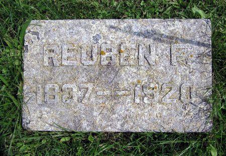 ROGERS, REUBEN F. - Fayette County, Iowa | REUBEN F. ROGERS