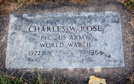 ROSE, CHARLES W. - Fayette County, Iowa | CHARLES W. ROSE