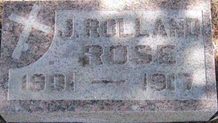 ROSE, J ROLLAND - Fayette County, Iowa   J ROLLAND ROSE