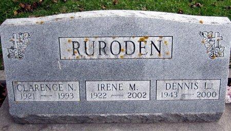 RURODEN, IRENE M - Fayette County, Iowa | IRENE M RURODEN