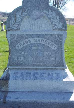 SARGENT, FRANK - Fayette County, Iowa | FRANK SARGENT