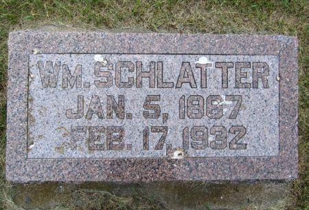 SCHLATTER, WILLIAM - Fayette County, Iowa | WILLIAM SCHLATTER